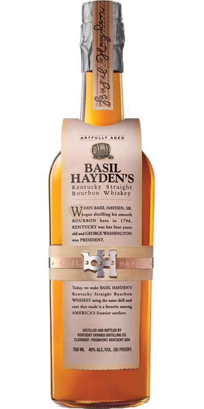 Basil Hayden's Artfully Aged