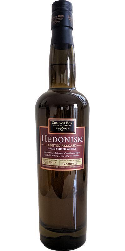 Hedonism Grain Scotch H25MMVII CB