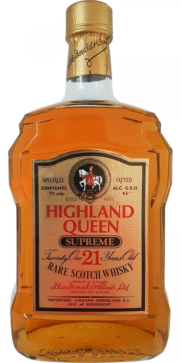 Highland Queen 21-year-old