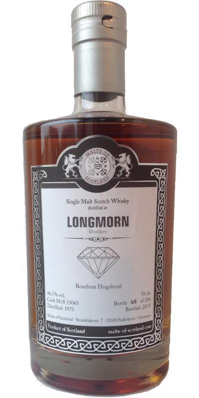 Longmorn 1975 MoS