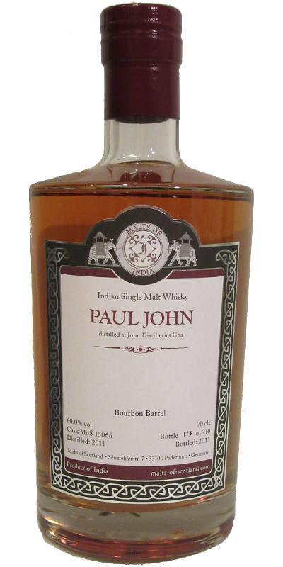 Paul John 2011 MoS