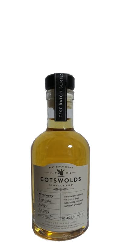 Cotswolds Distillery 05 months