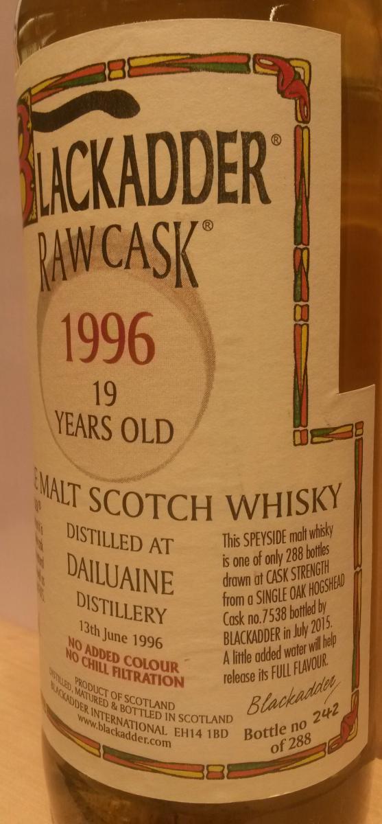 Dailuaine 1996 BA