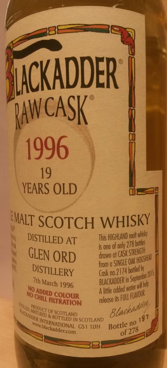 Glen Ord 1996 BA