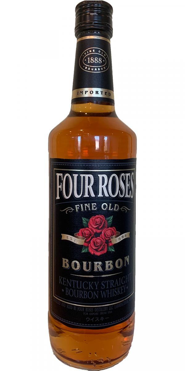 This is a photo of Terrible Four Roses Black Label