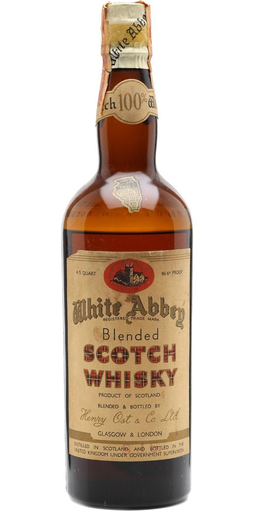 White Abbey Blended Scotch Whisky