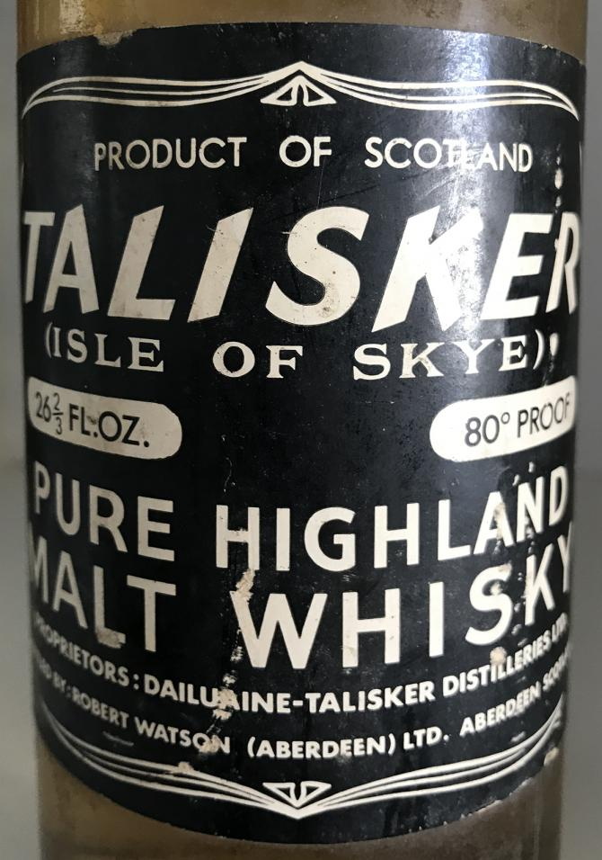 Talisker Pure Highland Malt Whisky RW