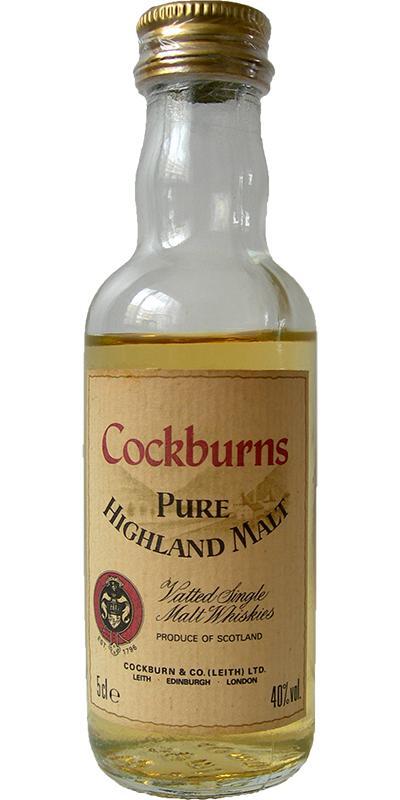 Cockburns Pure Highland Malt