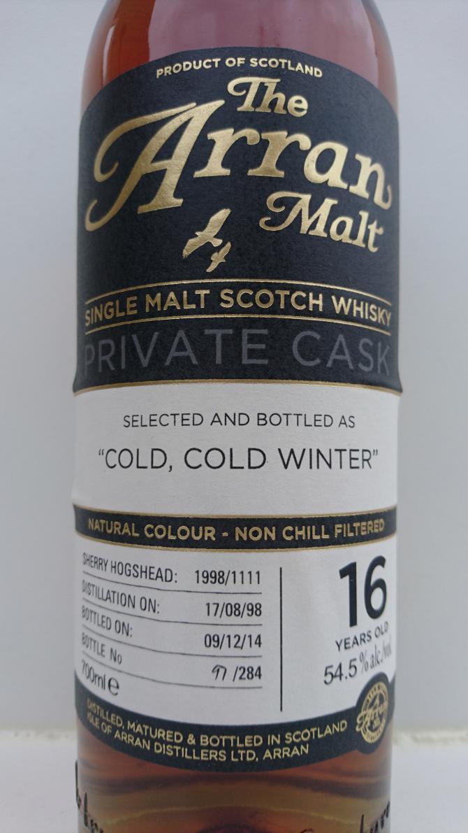 Arran 1998 Cold, Cold Winter