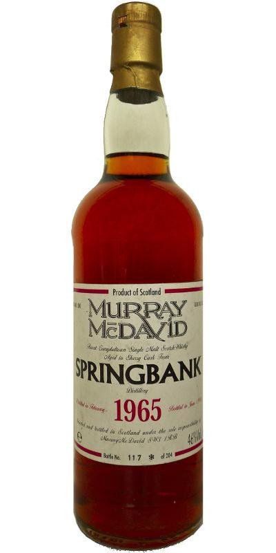 Springbank 1965 MM