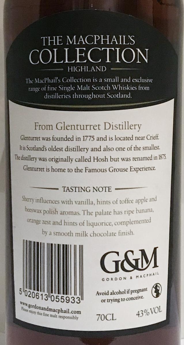 Glenturret 2001 GM