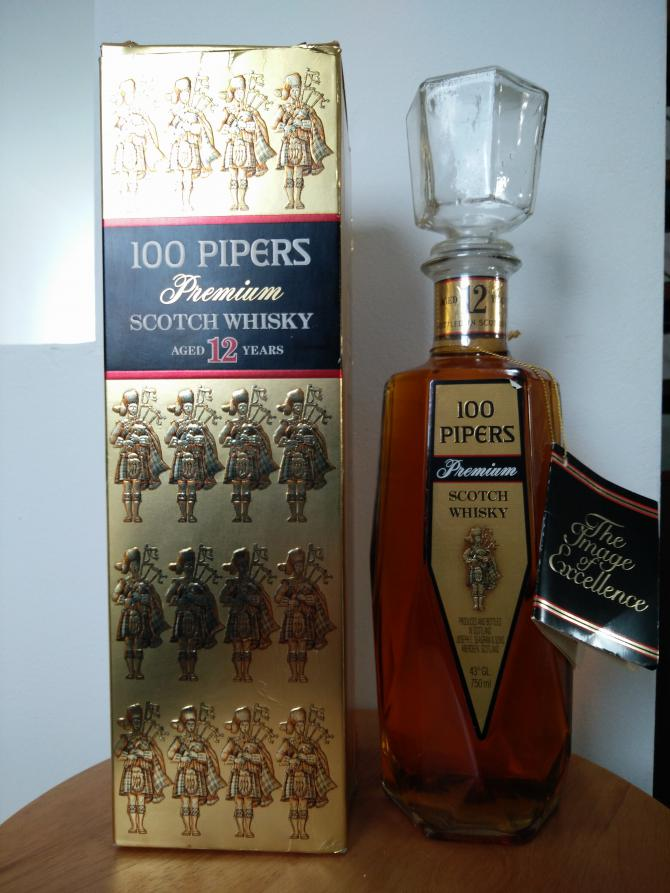 100 Pipers 12-year-old