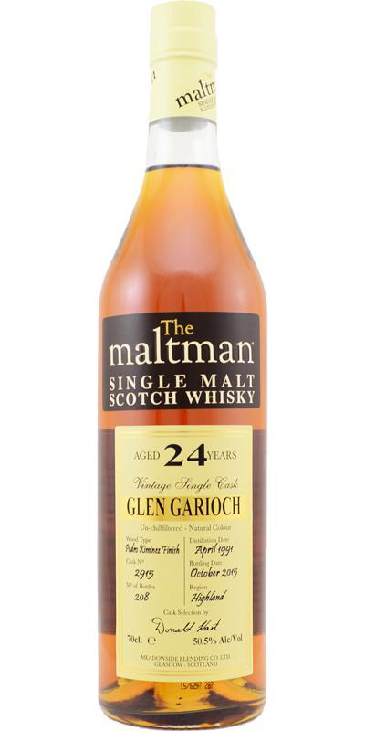 Glen Garioch 1991 MBl