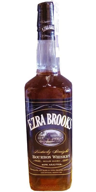 Ezra Brooks Black Label