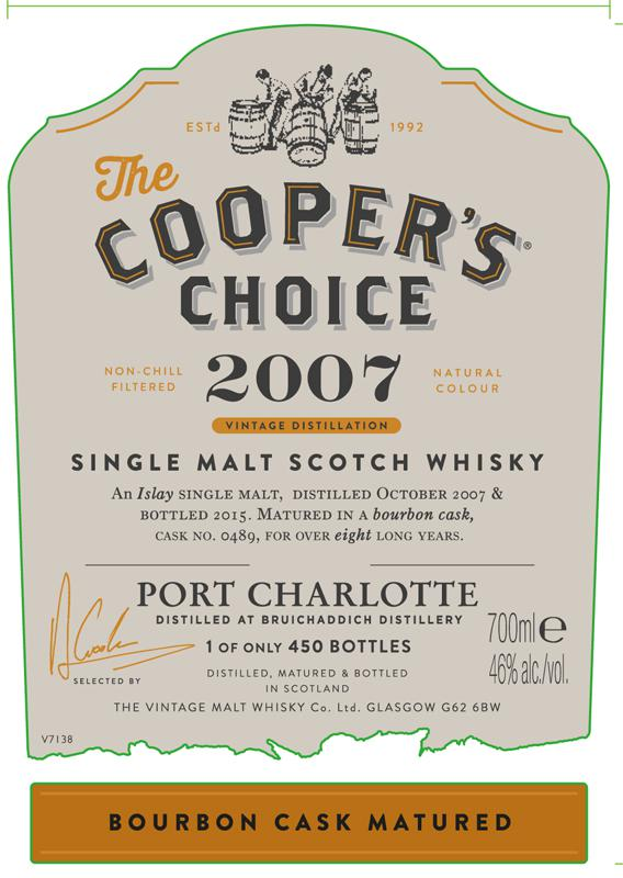 Port Charlotte 2007 CC