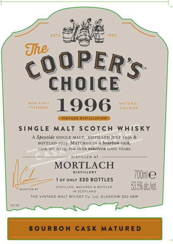 Mortlach 1996 CC
