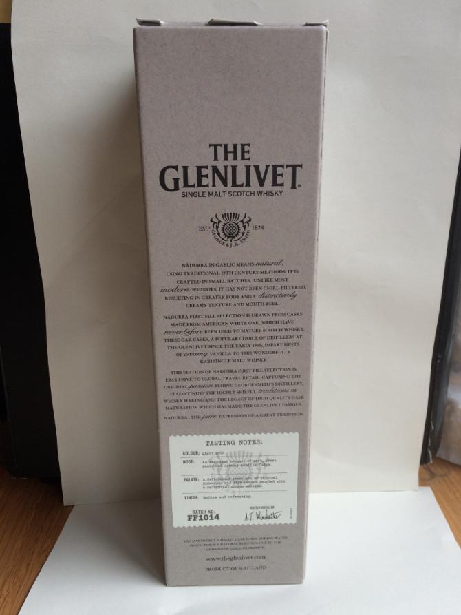 Glenlivet Nàdurra 1st Fill Selection