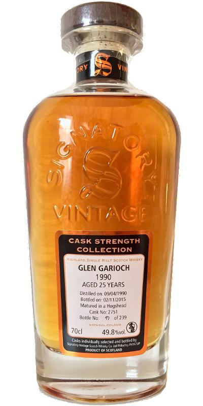 Glen Garioch 1990 SV