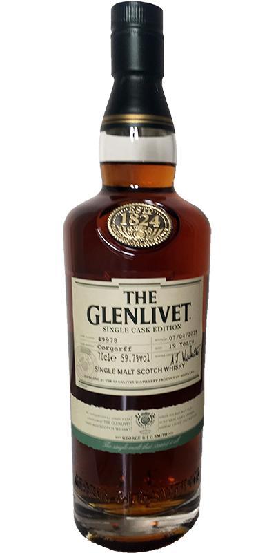 Glenlivet 19-year-old - Corgarff