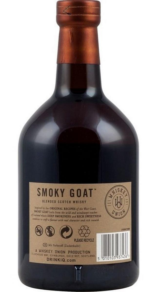 Smoky Goat Blended Scotch Whisky