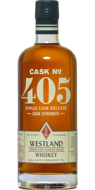 Westland Cask No. 405