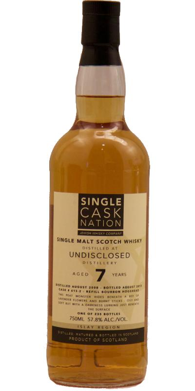 Undisclosed Distillery 2008 JWC