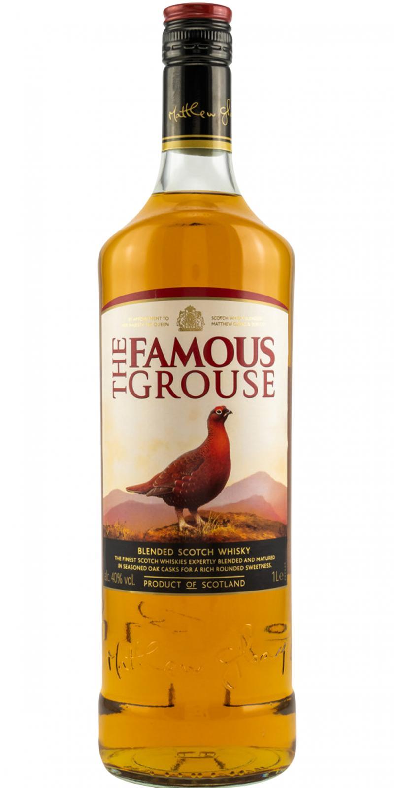 Famous Grouse Finest Scotch Whisky Longdrink Glas Bar Gastro 2cl 4cl