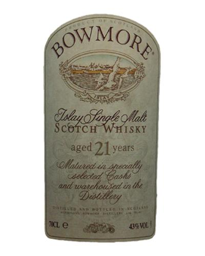 Bowmore 21-year-old