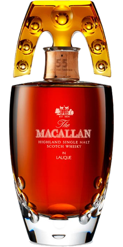 Macallan 55-year-old - Lalique