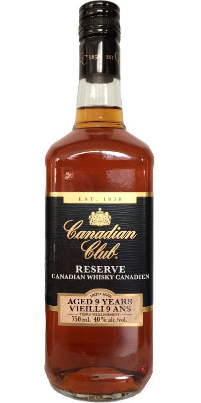 Canadian Club 09-year-old