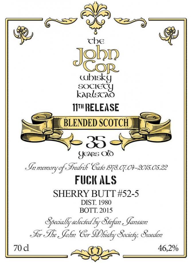 Blended Scotch 1980 JCWS