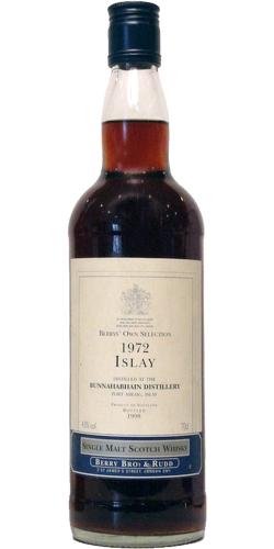 Bunnahabhain 1972 BR