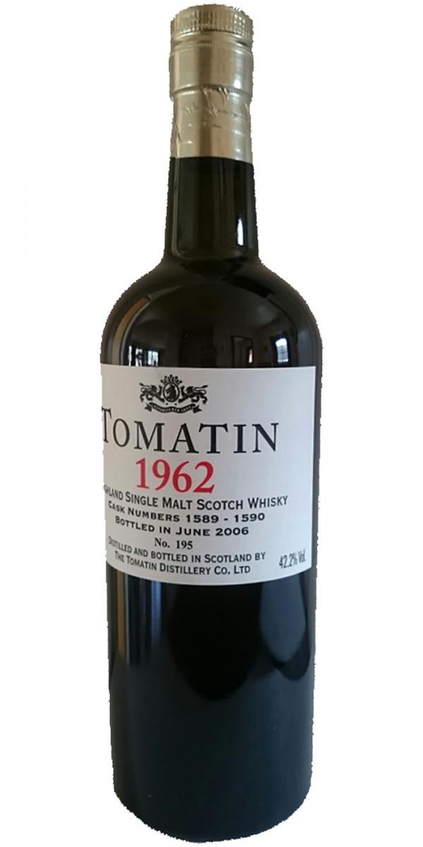 Tomatin 1962