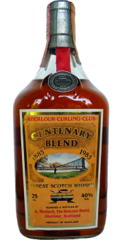 Centenary Blend 1885-1985 - Aberlour Curling Club