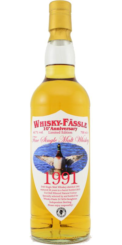 Irish Single Malt Whiskey 1991 W-F