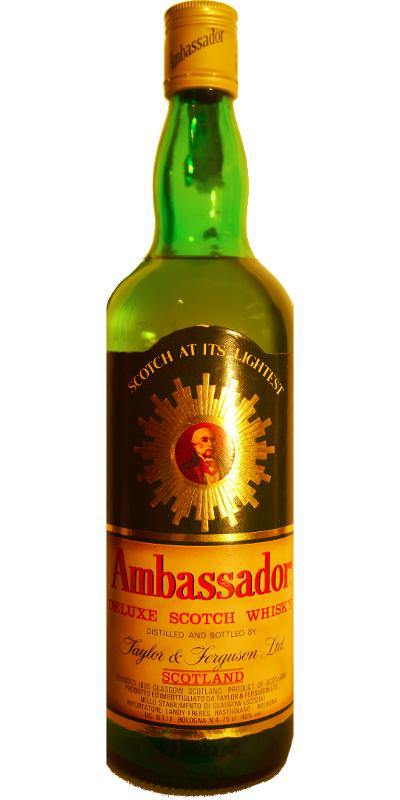 Ambassador Deluxe Scotch Whisky