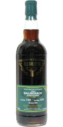 Balmenach 1976 GM