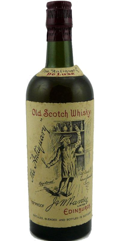 The Antiquary De Luxe - Old Scotch Whisky