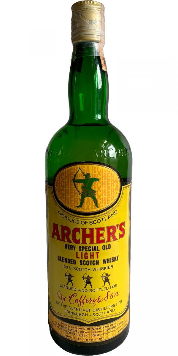 Archer's Very Special Old Light Blended Scotch Whisky