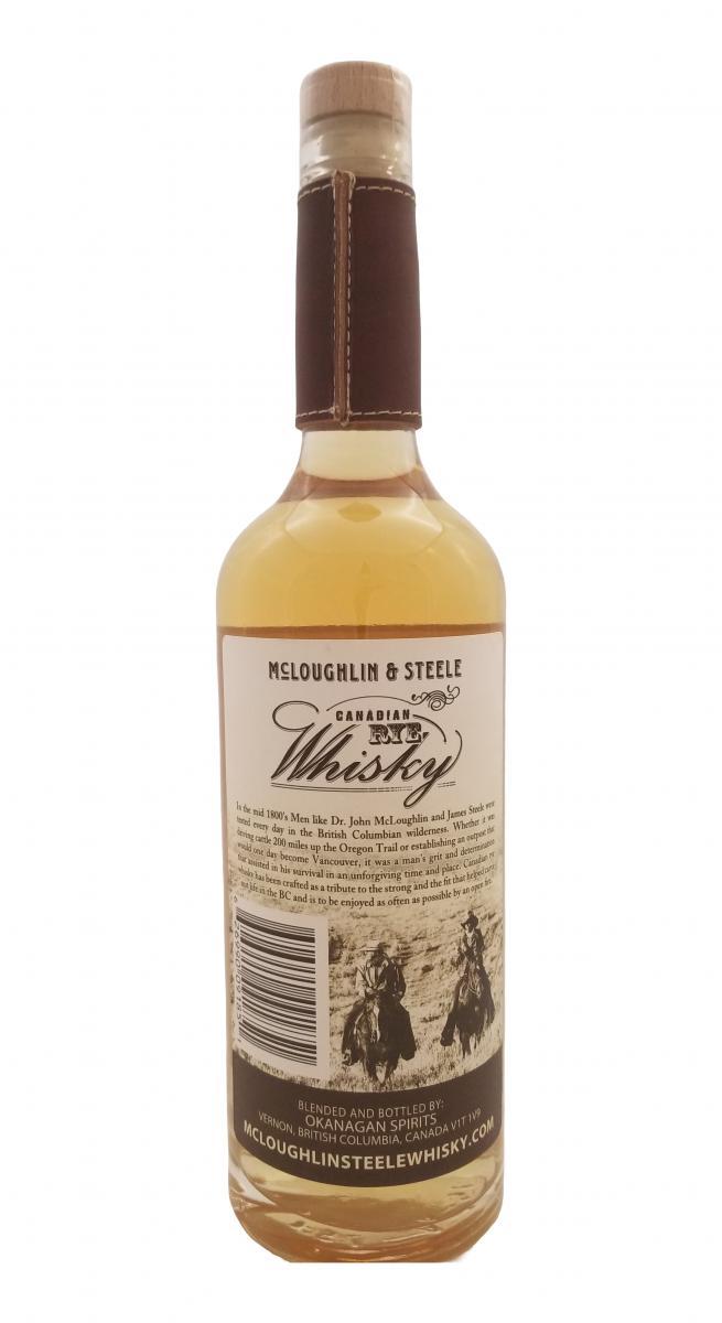 McLoughlin & Steel Canadian Rye Whisky
