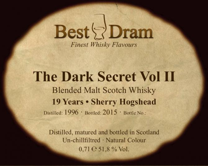 The Dark Secret 1996 BD
