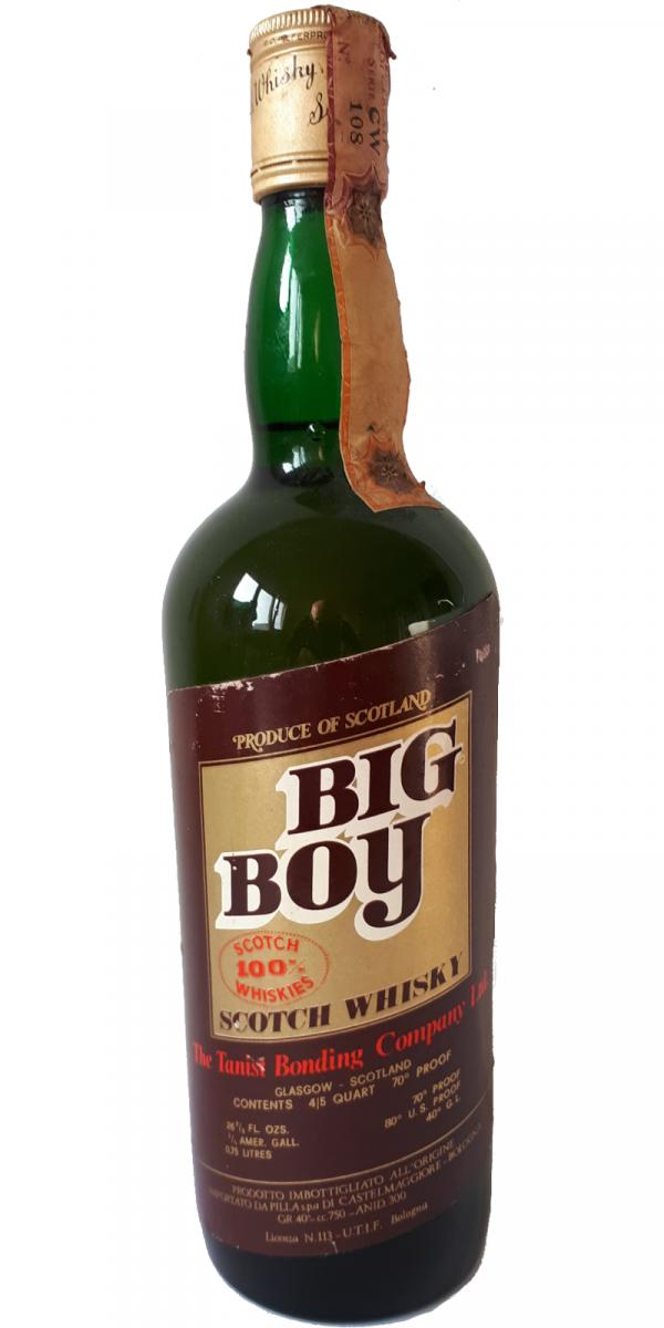 Big Boy Scotch Whisky