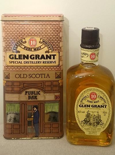 Glen Grant 10-year-old - Tin Box