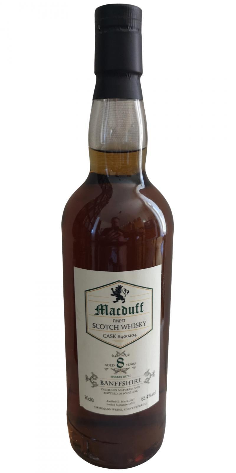 Macduff 2007 HEB