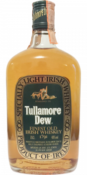Tullamore Dew Finest Old Irish Whiskey 1791