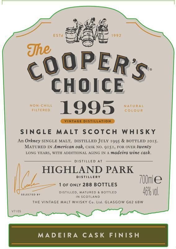 Highland Park 1995 CC
