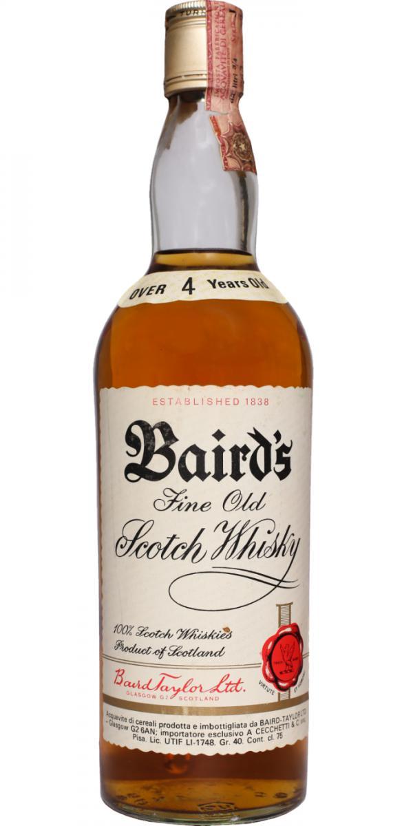 Baird's 04-year-old BTL