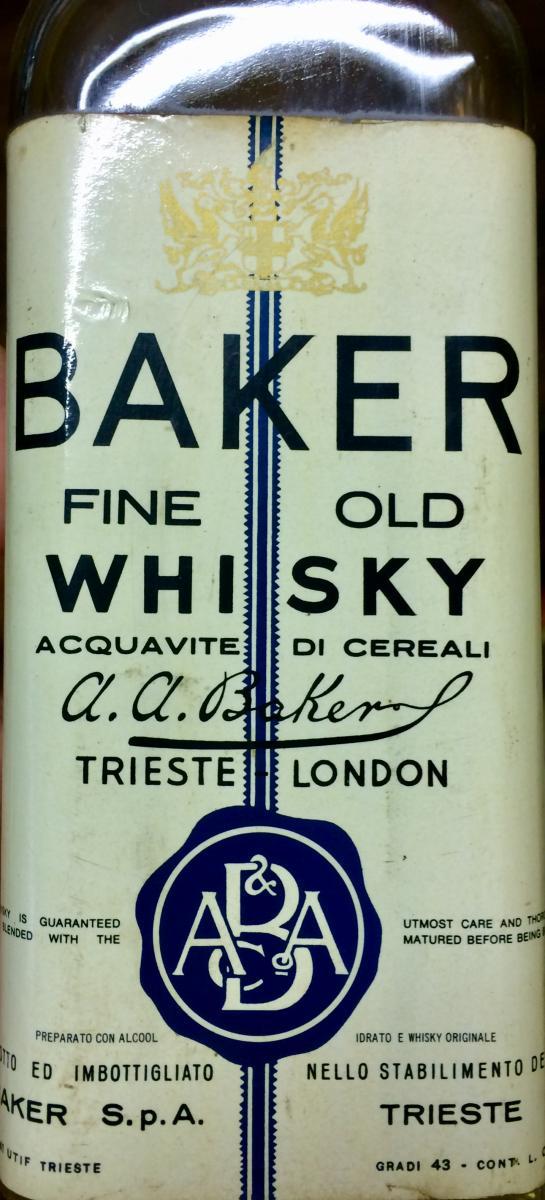 Baker Fine Old Whisky