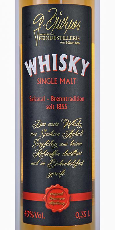 Gerhard Büchner Whisky