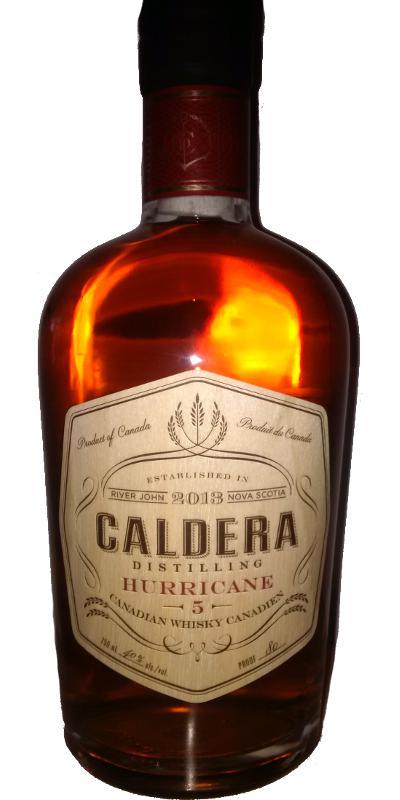 Caldera Hurricane 5